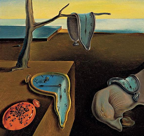 Salwador Dali, The Persistence of Memory